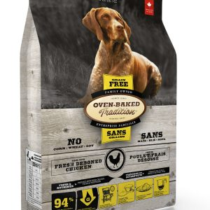 Oven baked tradition grain free dog chicken