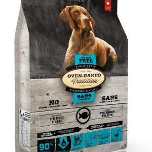 Oven baked tradition grain free dog fish